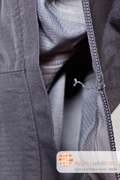 Outdoorjacke neuer Taschenreißverschluss